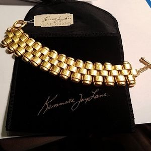 Kenneth Jay Lane Couture Coll Bracelet